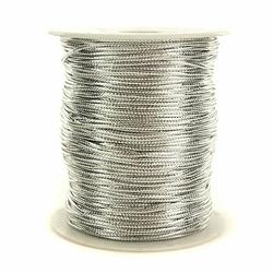 Sznurek ozdobny 1,5 mm100 m - srebrny