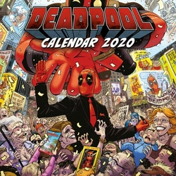 Deadpool - kalendarz 2020