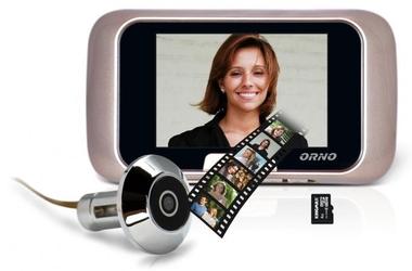Wideo-wizjer do drzwi orno or-wiz-1101 - szybka dostawa lub możliwość odbioru w 39 miastach