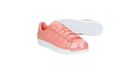 Buty adidas superstar metal toe w tacros 39 13 różowy