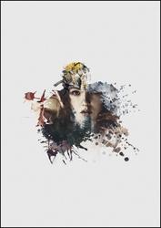 Elfi gaj - plakat premium wymiar do wyboru: 40x50 cm