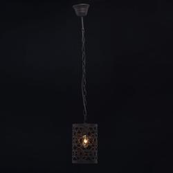 Lampka sufitowa ażurowa w kolorze ciemnobrązowym mw-light country 249018101