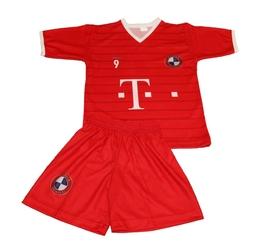 Komplet stroju piłkarskiego replika lewandowski 9 bayernm