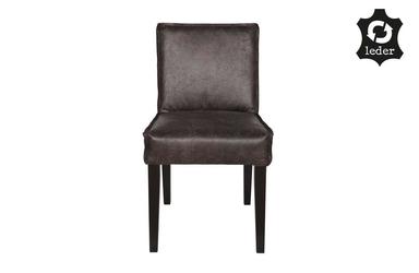 Be pure :: krzesło tapicerowane rodeo czarne