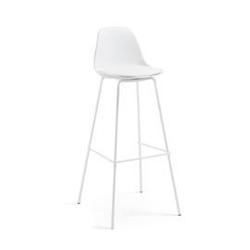 Hoker  krzesło barowe lysna biały