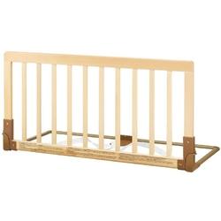 Drewniana barierka ochronna łóżka - kolor naturalny, baby dan