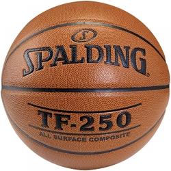 Piłka do koszykówki spalding tf-250 indooroutdoor - 6 sztuk