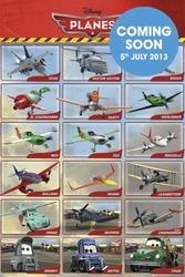 Samoloty Planes Grid - plakat