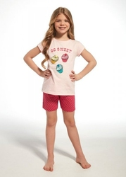 Piżama dziewczęca cornette young girl 25463 sweet krr 134-164