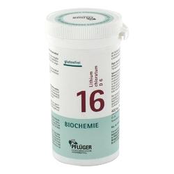 Biochemie pflüger 16 chlorek litu d6 tabletki