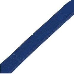 Rzemień płaski 5 mm - niebieski 1 metr - nie