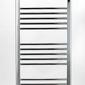 Grzejnik łazienkowy york - wykończenie zaokrąglone, 400x1200, chromowany