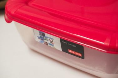 Pojemnik kuchenny czerwony 30 x 20 cm