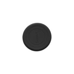 Silikonowy dysk-latający talerz scrunch - czarny