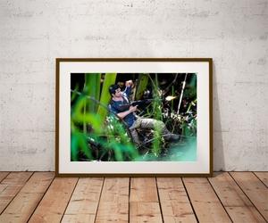 Nathan drake - plakat wymiar do wyboru: 29,7x21 cm