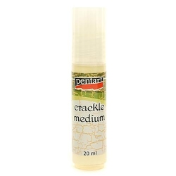Lakier do spękań Crackle 20 ml Pentart decoupage - 20ML