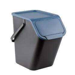 Kosz na śmieci do segregacji practic bini 25 l niebieski