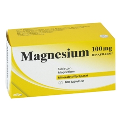 Magnesium 100 mg jenapharm tabl.