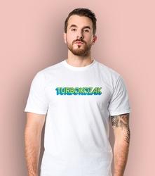 Turbokozak t-shirt męski biały l