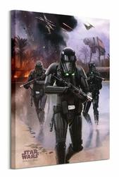 Star Wars Rogue One Death Trooper Beach - obraz na płótnie