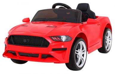 Mustang gt czerwony samochód na akumulator + pilot