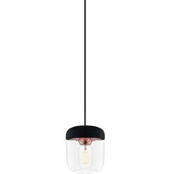 Mała lampka wisząca acorn umage czarna  miedź 02083