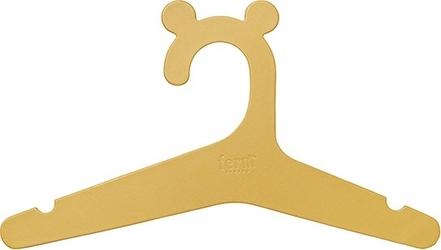 Wieszaki na ubrania dziecięce Ferm Living 5 szt. żółte