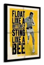 Muhammad Ali Float Like A Butterfly - Corbis - Obraz na płótnie