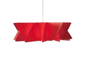 Lampa Diamond czerwona