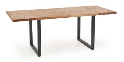 Stół w stylu industrialnym na płozach radus 12078 dąb lity
