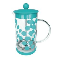 Zaparzacz tłokowy do kawy 1 l turkusowy zak designs