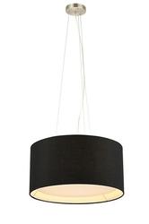 Lampa wewnętrzna wisząca cafe czarna