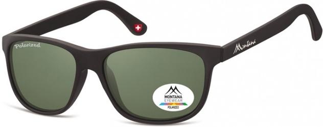 Okulary nerdy  montana mp48a polaryzacyjne czarne