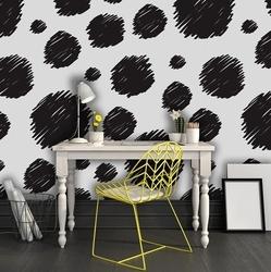 Abstrakcyjne łaty - tapeta designerska , rodzaj - próbka tapety 50x50cm
