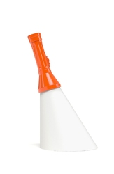 Qeeboo lampa flash pomarańczowa 11001or