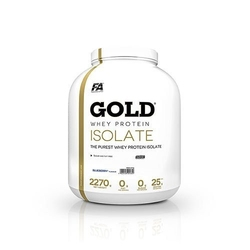 Fitness authority gold whey protein isolate - 2280g