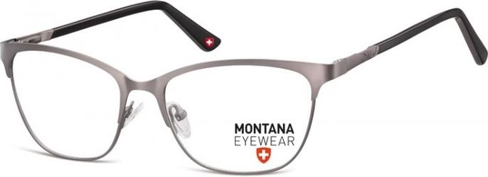 Oprawki kocie optyczne montana mm606c jasnografitowo-czarne