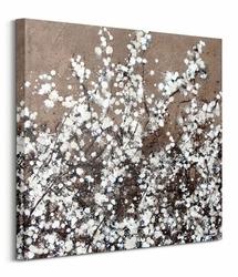 White Spring Blossom - obraz na płótnie