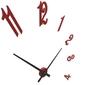 Zegar ścienny brunelleschi calleadesign szara śliwka 10-314-34