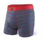Bokserki męskie saxx vibe boxer modern fit - niebieski