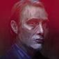 Mads mikkelsen - plakat premium wymiar do wyboru: 30x40 cm