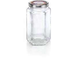 Słoiki sześciokątne 1700 ml