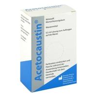 Acetocaustin preparat do likwidacji brodawek