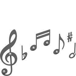 Wieszaki ścienne Verdi CalleaDesign szare 51-13-1-3