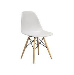 Nowoczesne krzesło design modern dsw retro biały