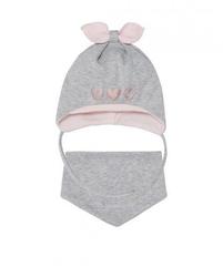 Komplet ajs 40-006 czapka+chustka