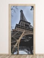 Fototapeta na drzwi wieża eiffla fp 6138