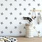 Tapeta dziecięca - stripped stars , rodzaj - próbka tapety 50x50cm