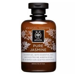 Apivita pure jasmine żel pod prysznic z jaśminowym olejkiem eterycznym 300ml - pure jasmine