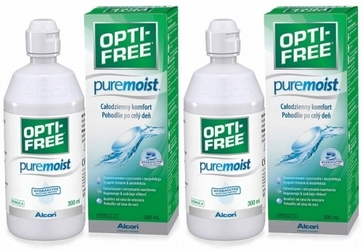 Opti-free puremoist, 2 x 300 ml